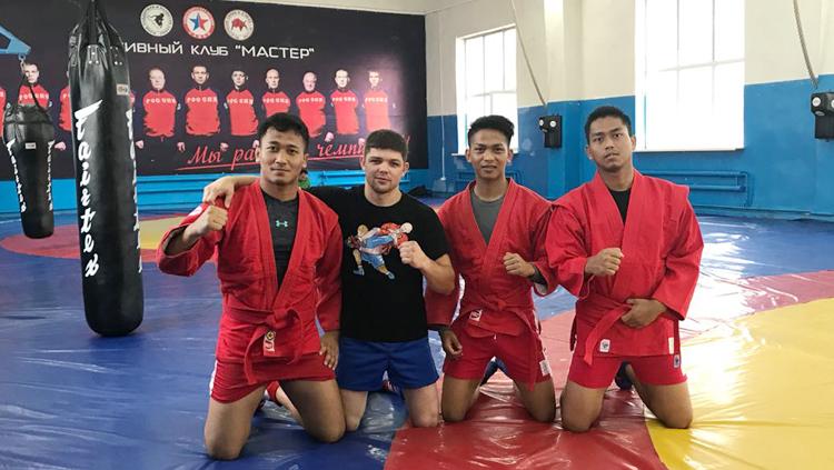 Сборная Индонезии готовится к Азиатским играм на сборах в России
