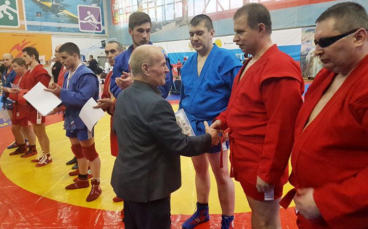 Турнир по самбо слепых прошел на «Кубке Равноапостольного Николая Японского»