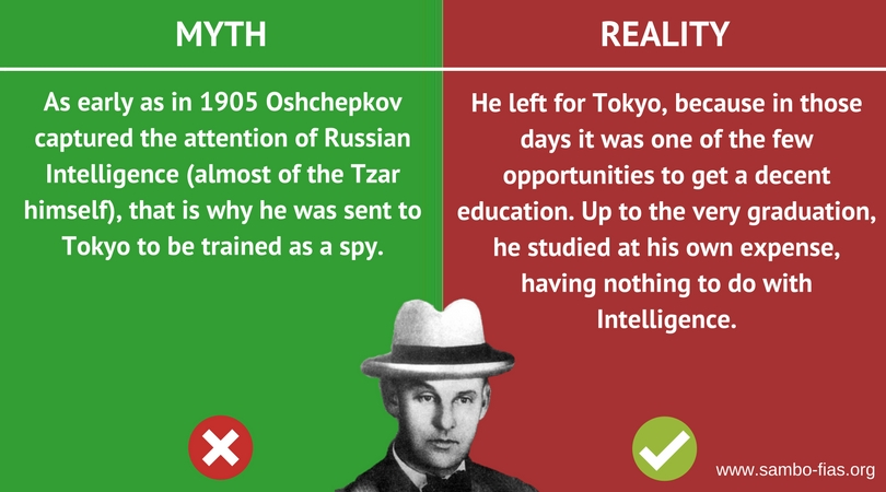 Vasily Oshchepkov: Myths and Reality