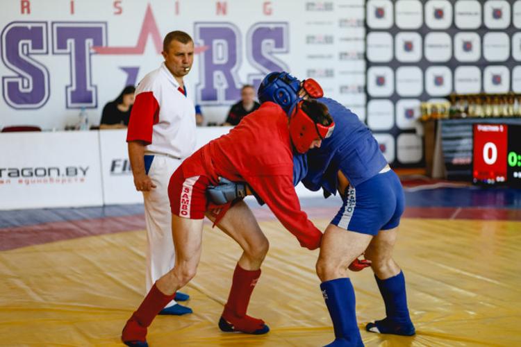 Как боевое самбо прорекламировало в Минске II Европейские игры