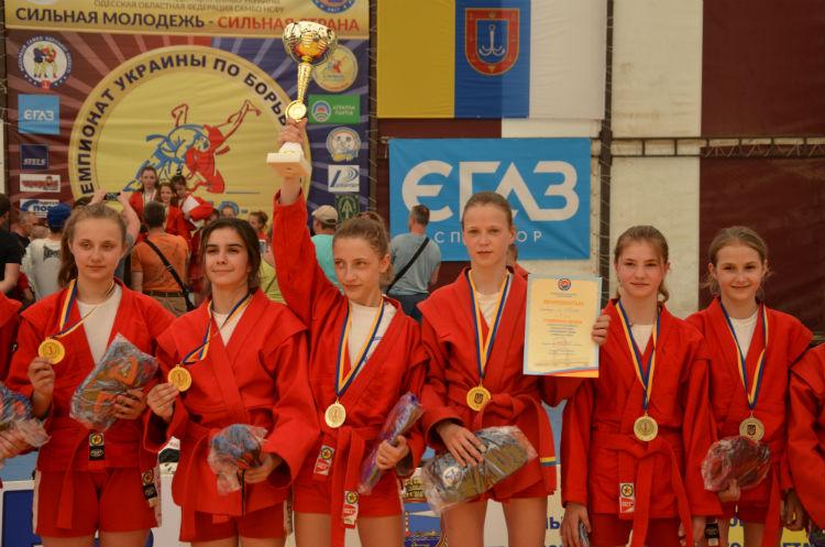 Чемпионат Украины по самбо среди юношей и девушек до 14 лет