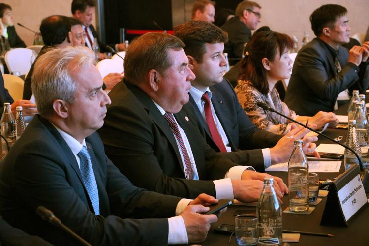 делегация Международной федерации самбо