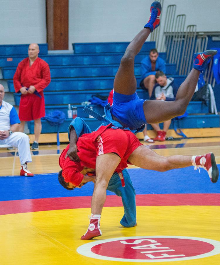 Чемпионат США по самбо прошел в Университете Дрю