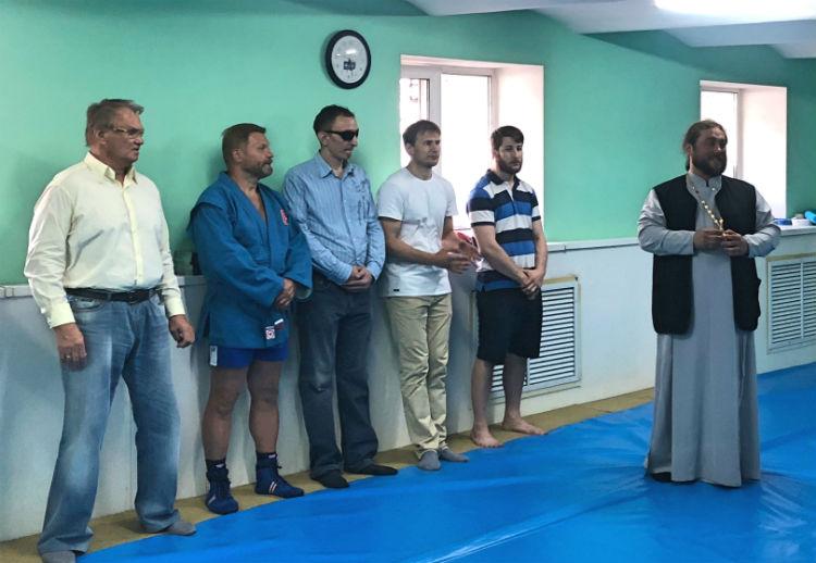 У самбистов с ограничениями по зрению появился свой тренировочный зал