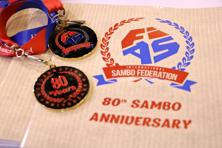 стенд ФИАС посвящен 80-летию самбо