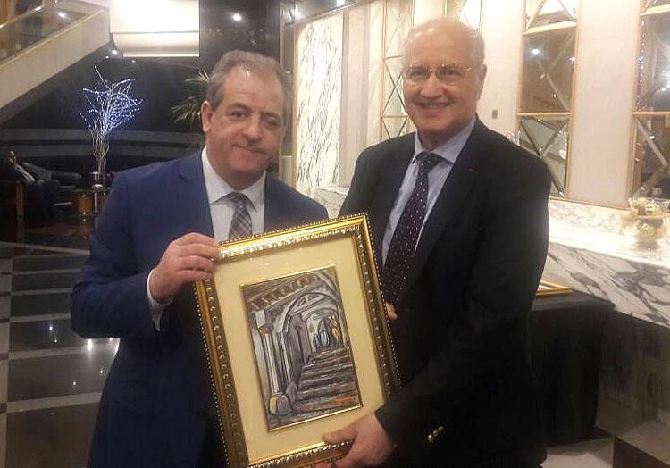 Далил Скалли побывал с официальным визитом в Алжире, где провел ряд встреч