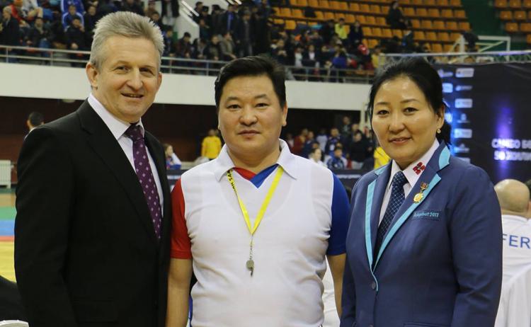 Чемпионат Монголии по самбо 2018