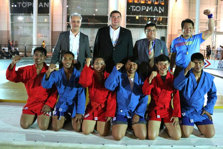 презентация самбо – тайские самбисты продемонстрировали свои умения