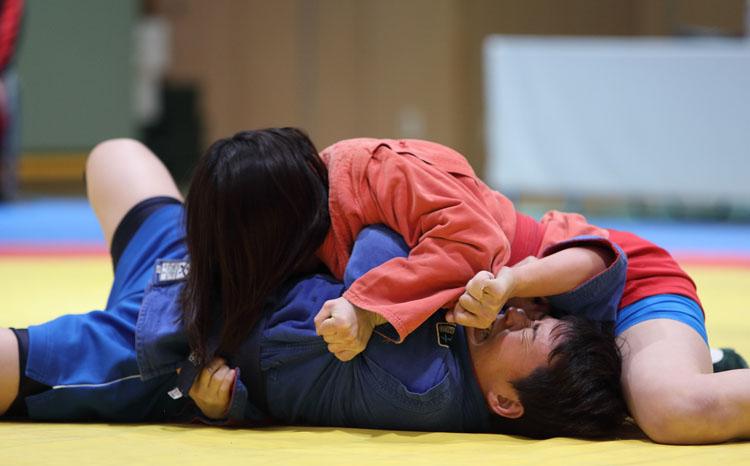 Чемпионат Японии по самбо на Кубок президента России прошел в Токио