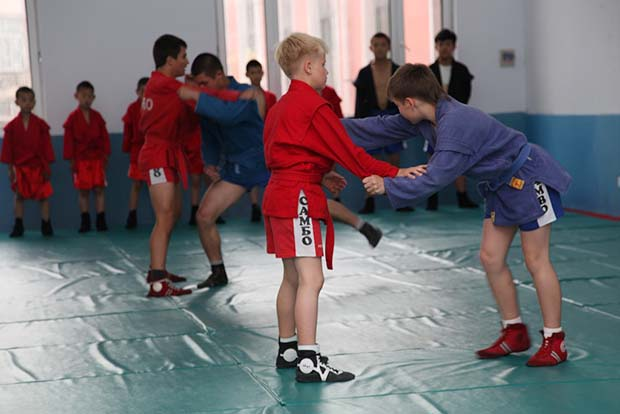 The first fruit: SAMBO school is opened in China