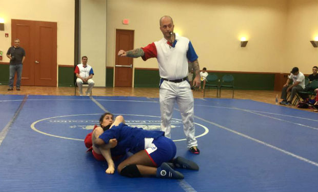 A US SAMBO CHAMPIONSHIP HAS TAKEN PLACE IN SAN ANTONIO