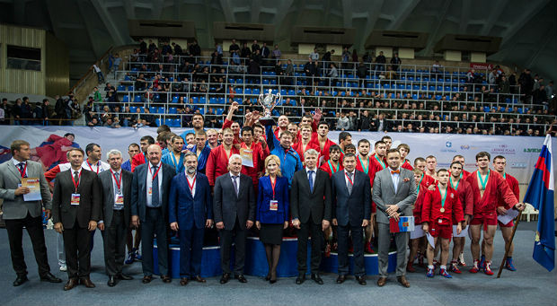 The team of Interior Ministry troops won the Russian President's Sambo Cup